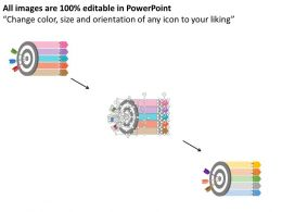 62405582 Style Circular Bulls-Eye 5 Piece Powerpoint Presentation Diagram Infographic Slide
