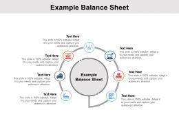 Example Balance Sheet Ppt Powerpoint Presentation Deck Cpb