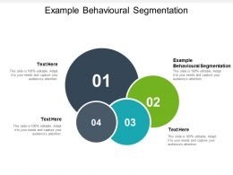 Example Behavioural Segmentation Ppt Powerpoint Presentation Professional File Formats Cpb