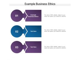 Example Business Ethics Ppt Powerpoint Presentation Inspiration Tips Cpb