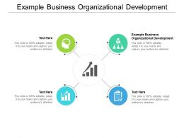 Example Business Organizational Development Ppt Powerpoint Presentation Gallery Files Cpb