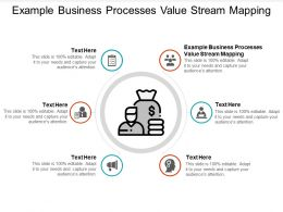 Example Business Processes Value Stream Mapping Ppt Powerpoint Slides Cpb
