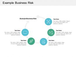 Example Business Risk Ppt Powerpoint Presentation File Slide Portrait Cpb