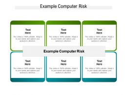 Example Computer Risk Ppt Powerpoint Presentation Outline Guide Cpb