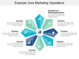 Example Core Marketing Operations Ppt Powerpoint Presentation Pictures Slides Cpb