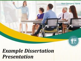 Example Dissertation Powerpoint Presentation Slide