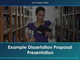 Example Dissertation Proposal Presentation Powerpoint Presentation Slides