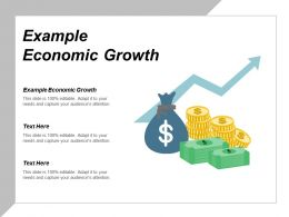 Example Economic Growth Ppt Powerpoint Presentation Model Deck Cpb