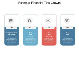 Example Financial Tips Growth Ppt Powerpoint Presentation Slides Aids Cpb