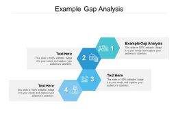 Example Gap Analysis Ppt Powerpoint Presentation Professional Maker Cpb
