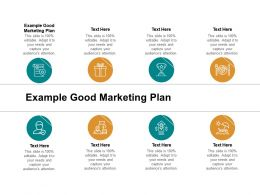 Example Good Marketing Plan Ppt Powerpoint Presentation Inspiration Gridlines Cpb