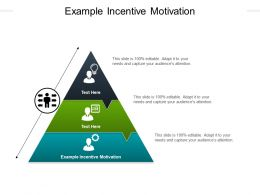 Example Incentive Motivation Ppt Powerpoint Presentation Slides Graphics Tutorials Cpb
