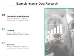 Example Interval Data Research Ppt Powerpoint Presentation Ideas Picture Cpb