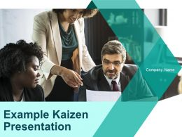 Example Kaizen Presentation Powerpoint Presentation Slides