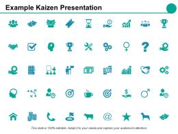 Example Kaizen Presentation Powerpoint Presentation Slides Ppt Powerpoint Presentation File Deck