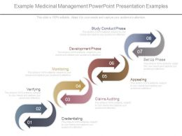 Example Medicinal Management Powerpoint Presentation Examples