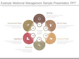 Example Medicinal Management Sample Presentation Ppt