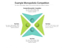 Example Monopolistic Competition Ppt Powerpoint Presentation Professional Designs Cpb