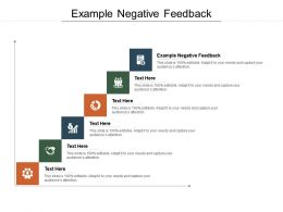 Example Negative Feedback Ppt Powerpoint Presentation Show Good Cpb