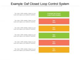 Example Oaf Closed Loop Control System Ppt Powerpoint Presentation Outline Gallery Cpb