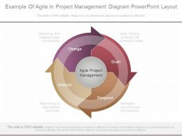 Example Of Agile In Project Management Diagram Powerpoint Layout