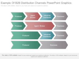 Example Of B2b Distribution Channels Powerpoint Graphics
