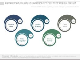 Example Of B2b Integration Requirements Ppt Powerpoint Templates Microsoft