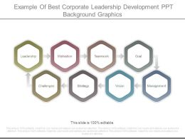 Example Of Best Corporate Leadership Development Ppt Background Graphics
