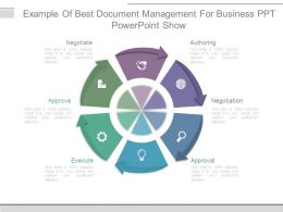 Example Of Best Document Management For Business Ppt Powerpoint Show