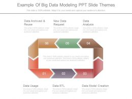 Example Of Big Data Modeling Ppt Slide Themes