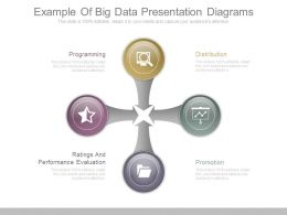 Example Of Big Data Presentation Diagrams