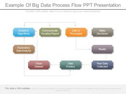 Example Of Big Data Process Flow Ppt Presentation
