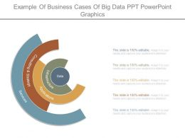 Example Of Business Cases Of Big Data Ppt Powerpoint Graphics