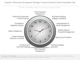 Example Of Business Development Manager Process Powerpoint Slide Presentation Tips