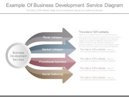 Example Of Business Development Service Diagram