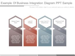 Example Of Business Integration Diagram Ppt Sample