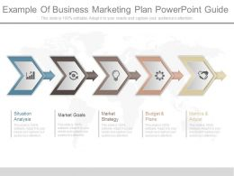 Example Of Business Marketing Plan Powerpoint Guide