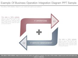 Example Of Business Operation Integration Diagram Ppt Sample