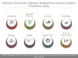 Example Of Business Operation Management Analysis Diagram Powerpoint Show
