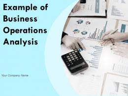 Example Of Business Operations Analysis Powerpoint Presentation Slides