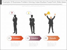 problem solving case studies business Blended solutions that solve real problems here are some case study examples of business problems solved using our services: problem: no single supplier offers all.