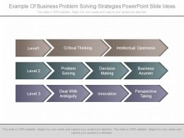 Example Of Business Problem Solving Strategies Powerpoint Slide Ideas