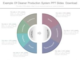 Example Of Cleaner Production System Ppt Slides Download