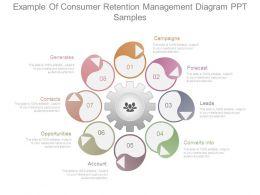 Example Of Consumer Retention Management Diagram Ppt Samples