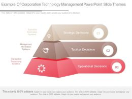 Example Of Corporation Technology Management Powerpoint Slide Themes