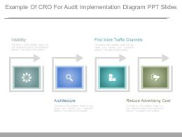 Example Of Cro For Audit Implementation Diagram Ppt Slides