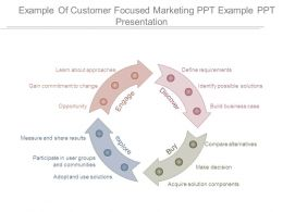 Example Of Customer Focused Marketing Ppt Example Ppt Presentation