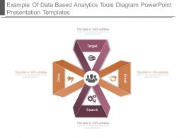Example Of Data Based Analytics Tools Diagram Powerpoint Presentation Templates