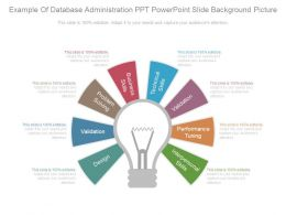 Example Of Database Administration Ppt Powerpoint Slide Background Picture