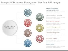 Example Of Document Management Solutions Ppt Images